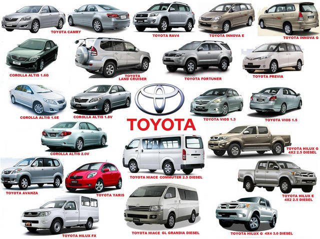 All Toyota Models New Car Release Date - All toyota vehicles